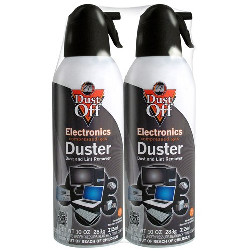 Dust-Off Duster, 10 oz, 2-Pack