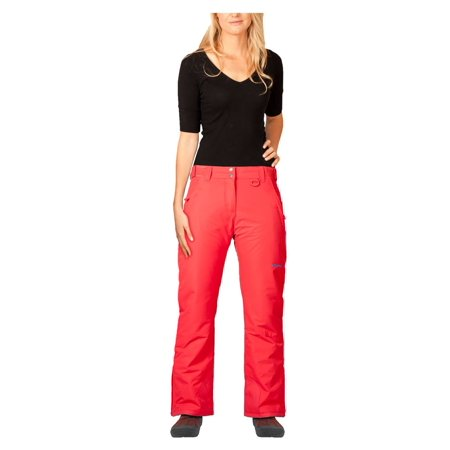 Arctix Women's Classic Ski Snowboard Pant Women's, Orange, XS (White Womens Snowboarding Pants)