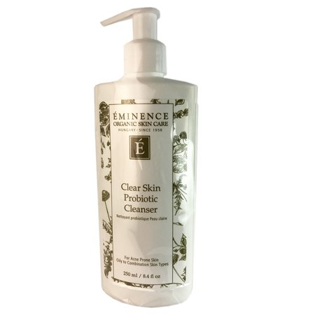 Eminence Organic Skin Care Clear Skin Probiotic Cleanser, 8.4 Oz