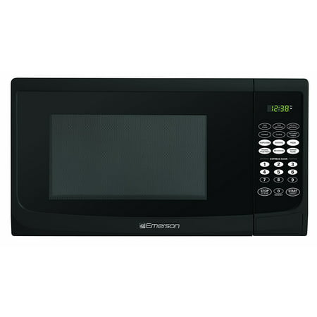 Emerson 0.9 CU. FT. 900 Watt, Touch Control, Black Microwave Oven, (Black Decker 0-9 Cu Ft 900 Watt Microwave)