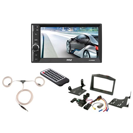 Powersport Audio: Pyle Double-Din Touch Screen 6.5