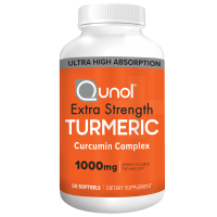 Qunol Extra Strength Turmeric Supplement Capsules, 1000mg, 60ct.