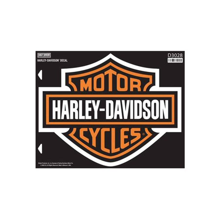 Harley-Davidson Bar & Shield X-Large Decal, X-Large Size Sticker D3028, Harley - Harley Davidson Car Accessories