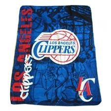 Los Angeles Clippers Fleece Throw Blanket