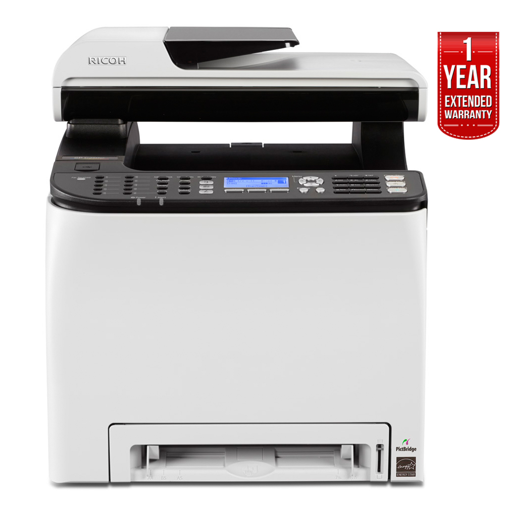 Ricoh SP C250SF Color Multifunction Laser Printer (407523) + 1 Year extended warranty