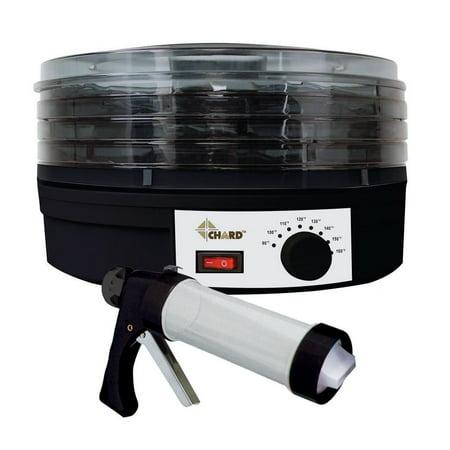 Chard All In One 4-Tray Food Dehydrator Kit (Solar Dehydrator Kit)