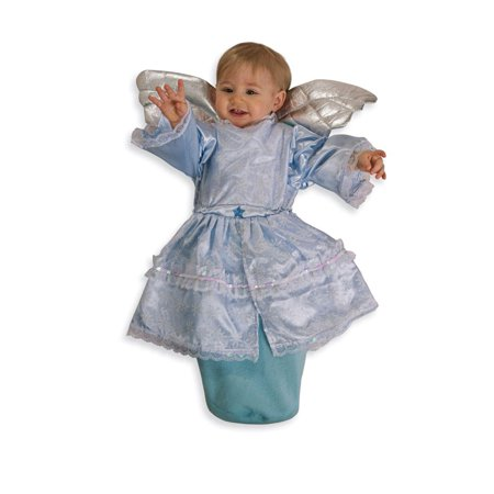 Blue Angel Costume Baby Bunting 0-9 - Angels Costume Sale