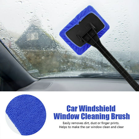 Garosa Car Windshield Cleaning Brush Automobile Window Dust Dirt Removal Tool Easy to Use Car Cleaning Tool Windshield Cleaning Brush - image 11 of 11