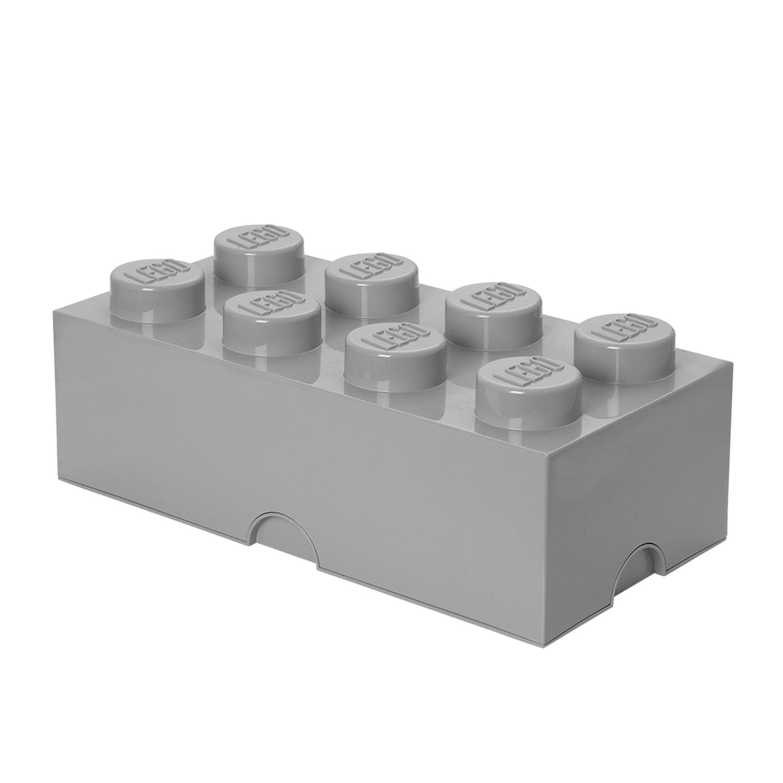 Shop LEGO Storage 8 Brick Toy Box, Grey - Walmart.com from Walmart on Openhaus