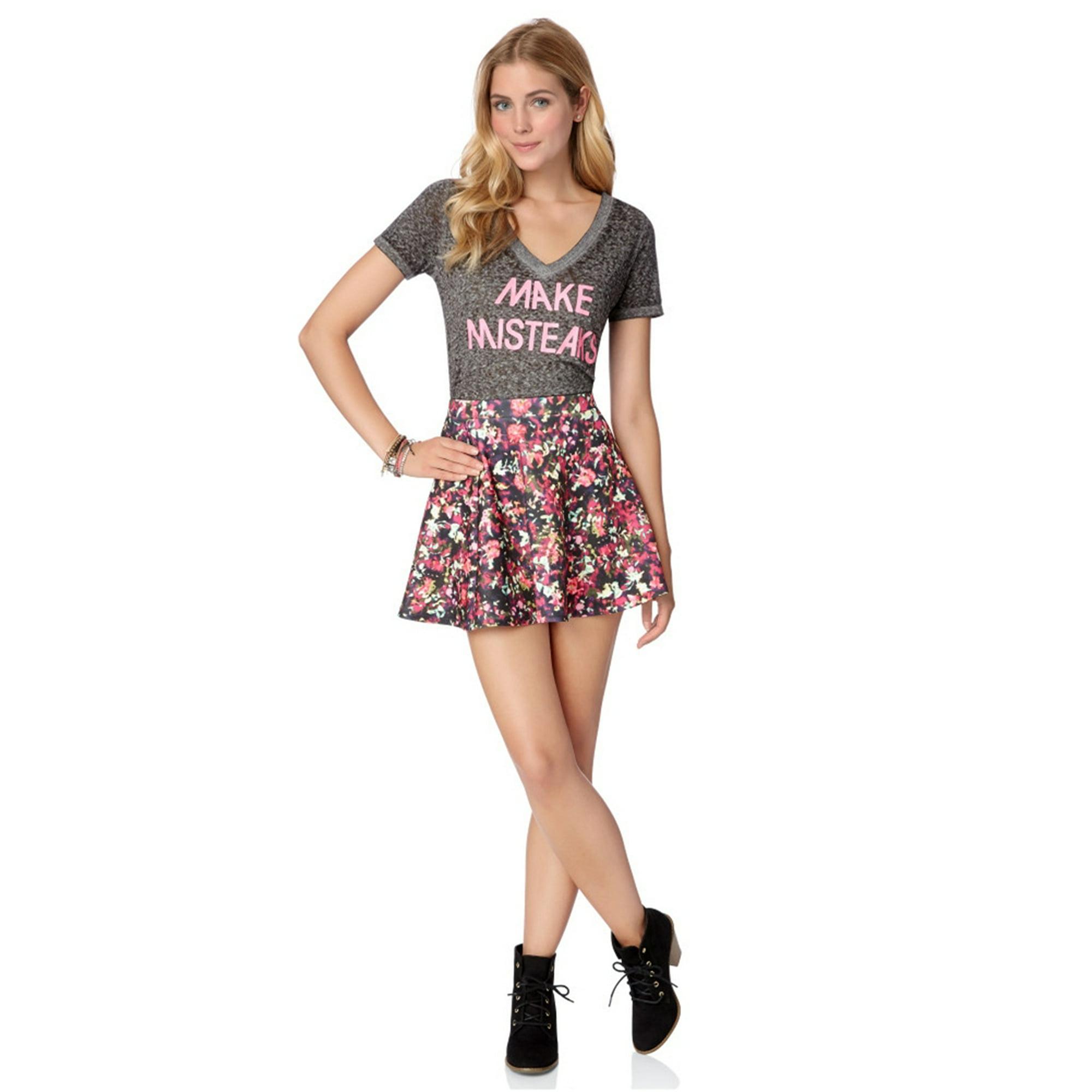 708dceba143 Aeropostale Juniors Stretch Floral Mini Skirt 684 Xs | Walmart Canada