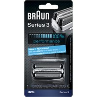 Braun Shaver Replacement Part 32 S Silver - Compatible with Series 3 shavers