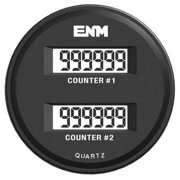 ENM T39FB48 Electronic Counter,6 Digits,LCD