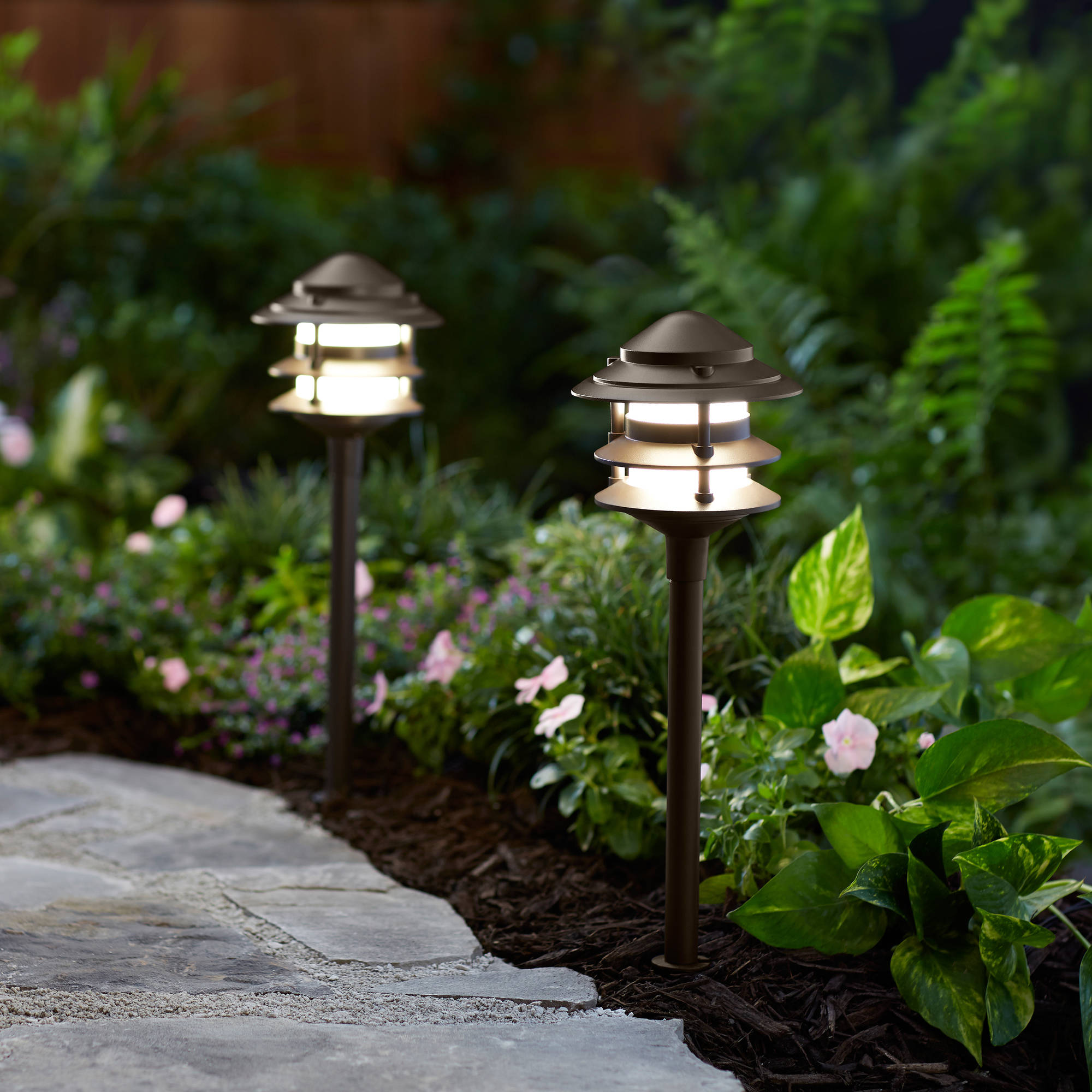 Better Homes and Gardens Frayser 1 Piece Outdoor QuickFIT LED