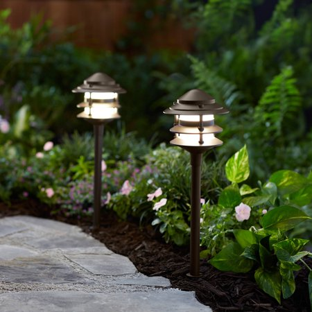 Ex Outdoor Lights - Better Homes and Gardens Frayser 1 Piece Outdoor QuickFIT LED Pathway Light