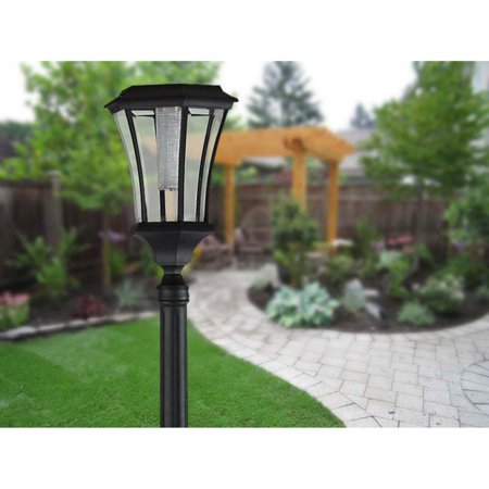 Sun-Ray Abigail Solar Lamp Post and Planter