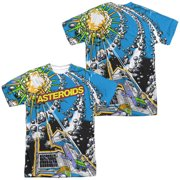 Atari - Asteroids All Over (Front/Back Print) - Short Sleeve Shirt - XXX-Large