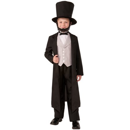 Abe Lincoln Child Costume (M)