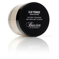 Baxter of California Clay Hair Pomade for Men, 2 Oz
