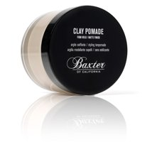 Hair Styling: Baxter of California Clay Pomade