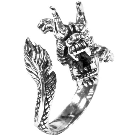 Wrap Around Dragon - Wrap Around Dragon .925 Sterling Silver Ring