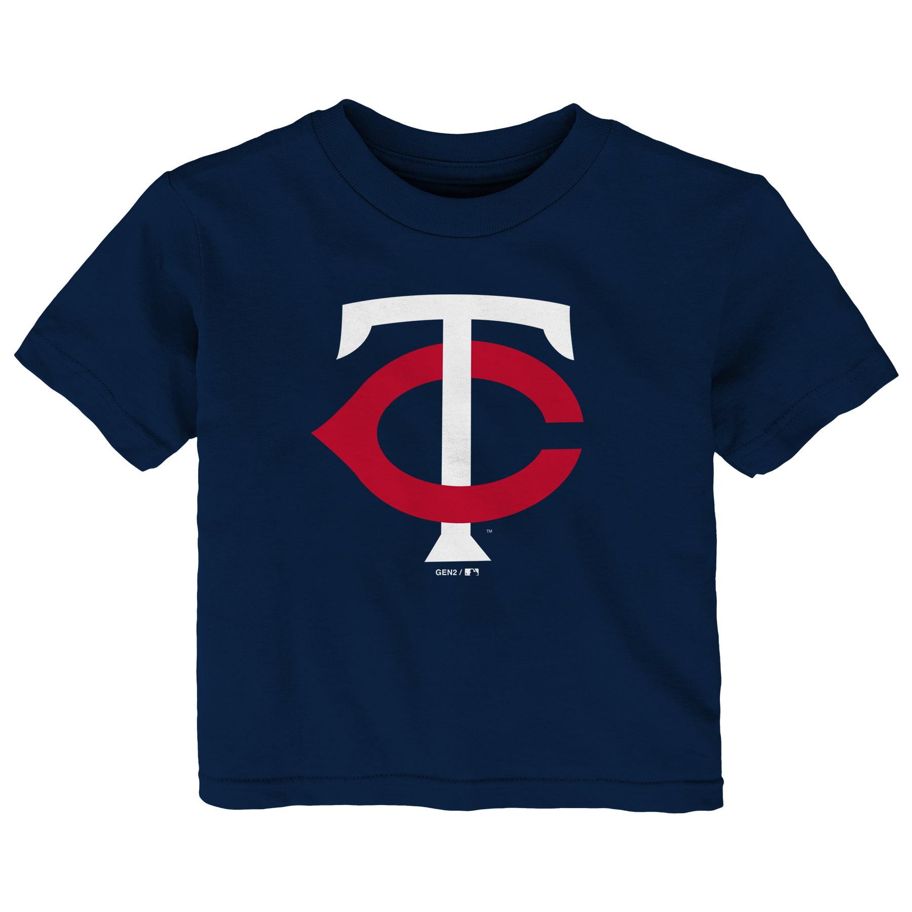 Minnesota Twins Infant Primary Logo T-Shirt - Navy