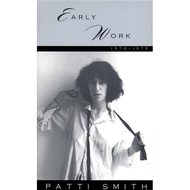 Early Work 1970-1979 (Paperback)