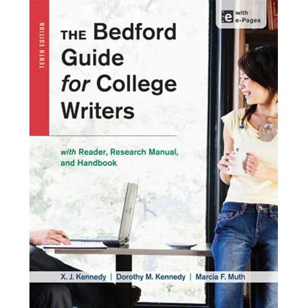 The Bedford Guide for College Writers with Access Code : With Reader, Research Manual, and Handbook (College Keyboarding Access Code)