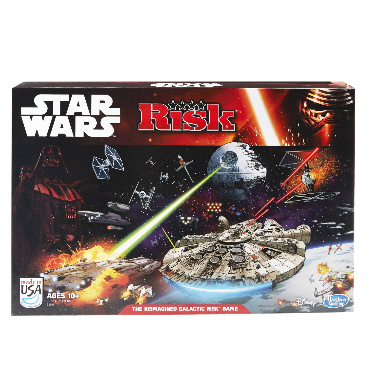 Risk: Star Wars Edition Game, USA, Brand Hasbro by