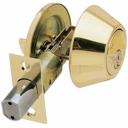Ultra 43967 Single Cylinder Ultra Security Deadbolt