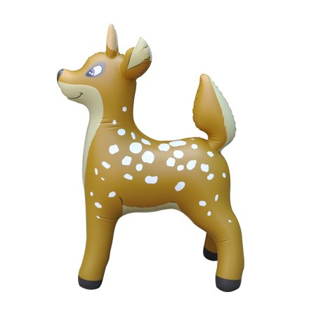 Deer Inflatable Animal 36 inch Tall Great for pool, Holiday decoration, birthday,home décor,room décor, for kids and adults by Jet Creations AN-DEER3](Inflatable Animal)