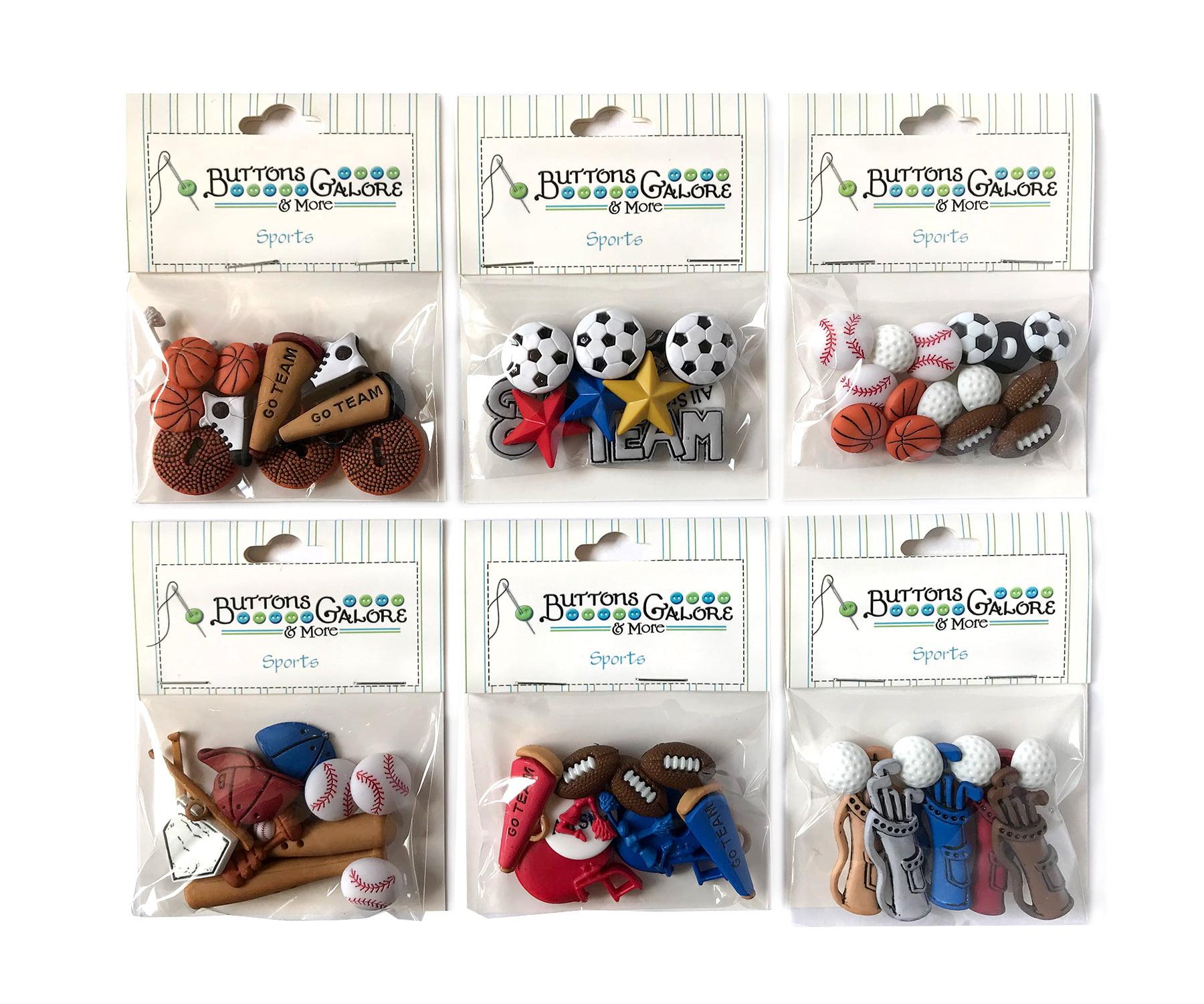 Buttons Galore Bulk Buy Craft /& Sewing Buttons Bat