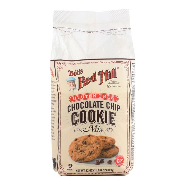 Bob's Red Mill Gluten Free Chocolate Chip Cookie Mix - 22 Oz - pack of 4
