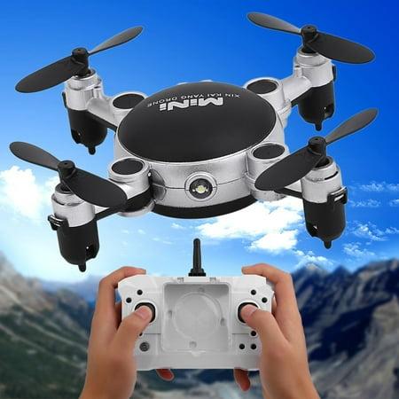 4 Channels Dron e Mini Foldable 4 Axles RC Quadcopter Portable Photography Video Device Durable Dron e US Plug