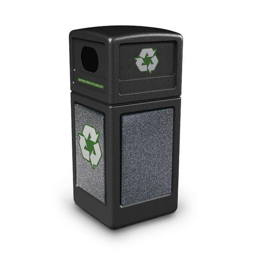 Commercial Zone StoneTec  42 Gallon Recycling Bin