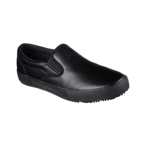 Men's Skechers Work Relaxed Fit Gibson Alcade SR Slip-On Sneaker by Skechers