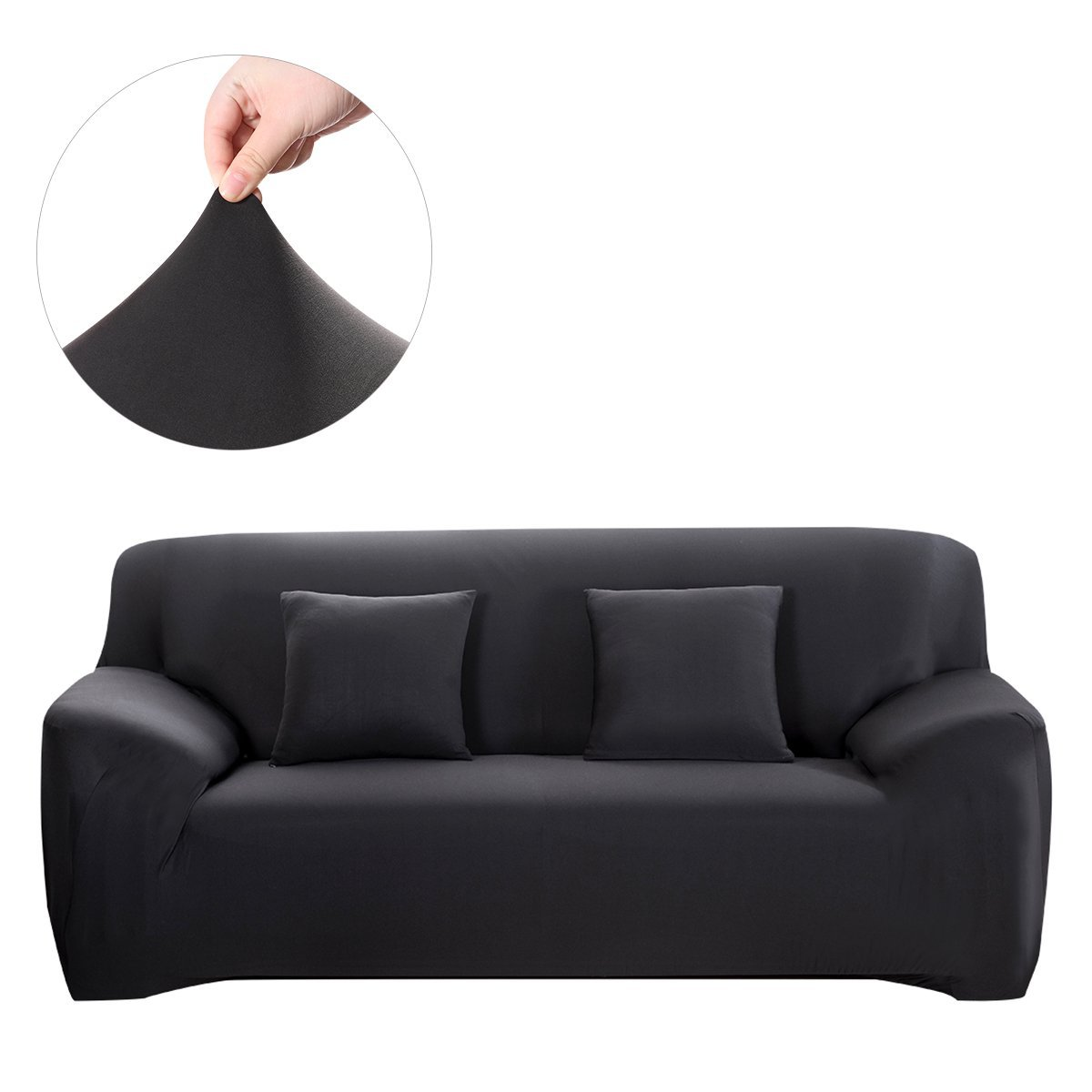 Dilwe Sofa Loveseat Cover Stretch Seat Chair Covers Couch