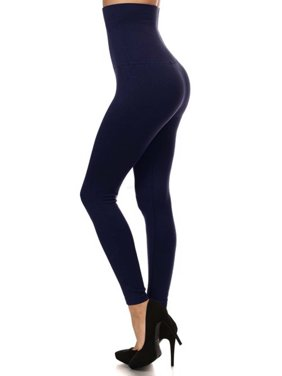 6de63abca1031d Product Image Premium Women Thick High Waist Tummy Compression Slimming  Leggings French Terry Lining Plus Size L XL