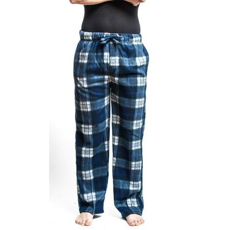 Men's Flannel Fleece Brush Pajama Sleep & Lounge Pants ()