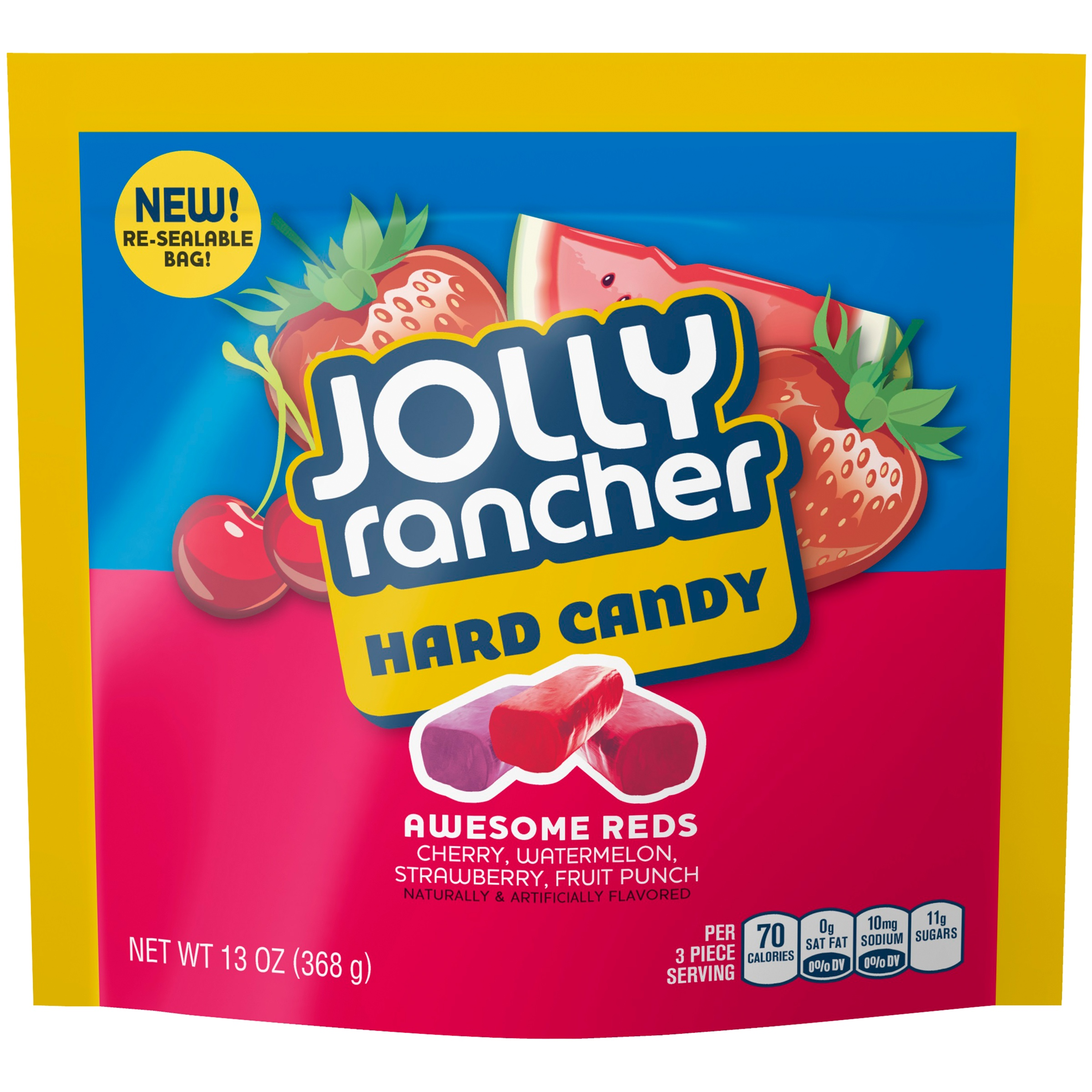 (8 Pack) Jolly Rancher, Awesome Reds Hard Candy, 13 Oz
