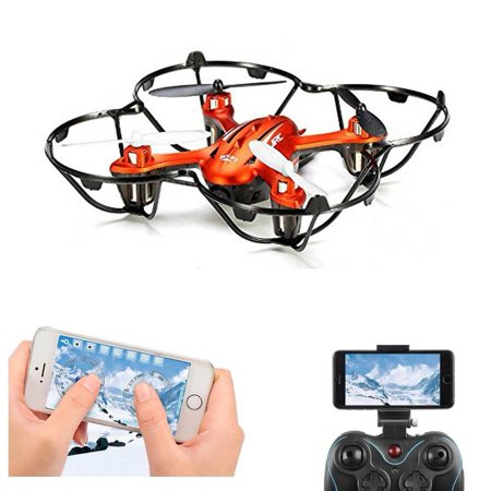 Fpv Rc Quadcopter Drone With 2Mp Hd Wifi Camera Mini Drone Real Time Live Video 4 Channel 2 4Ghz 6 Gyro Rc Helicopter H6w