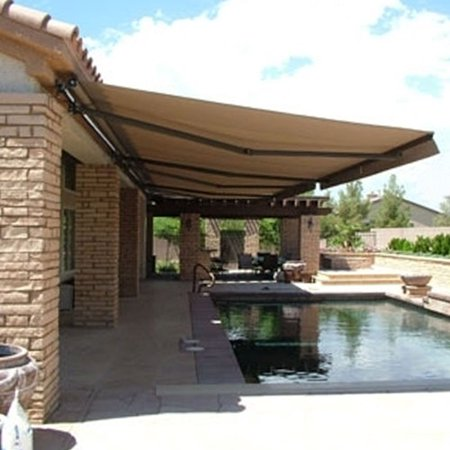 Aleko Retractable Patio Awning, 12' x 10', (3.65m x 3m ...
