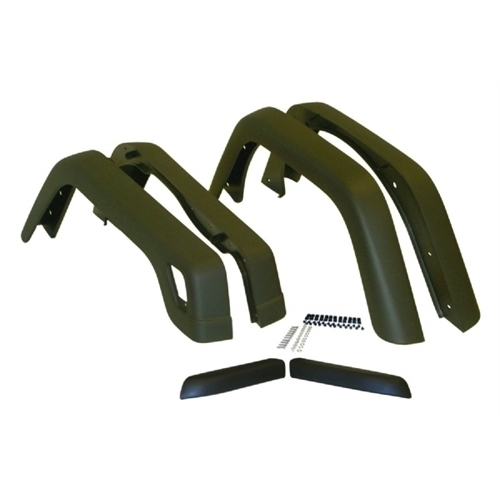 Crown Automotive 55254918K6 CAS55254918K6 FENDER FLARE KIT (6 PIECE)