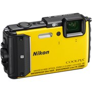 Nikon COOLPIX AW130 Digital Camera with 16 Megapixels and 5x Optical Zoom, Yellow
