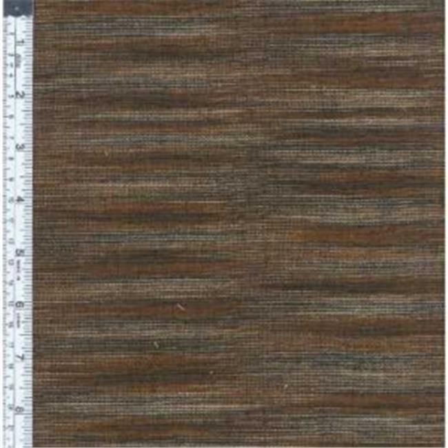 Textile Creations WR-009 Winding Ridge Fabric, Black Brown Ikat With Slub, 15 yd.