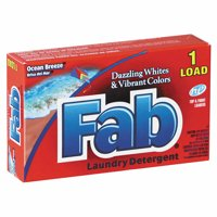 Fab Dispenser-Design HE Ocean Breeze Laundry Detergent, 1 oz