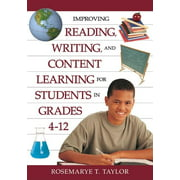 Improving Reading, Writing, and Content Learning for Students in Grades 4-12 (Paperback)