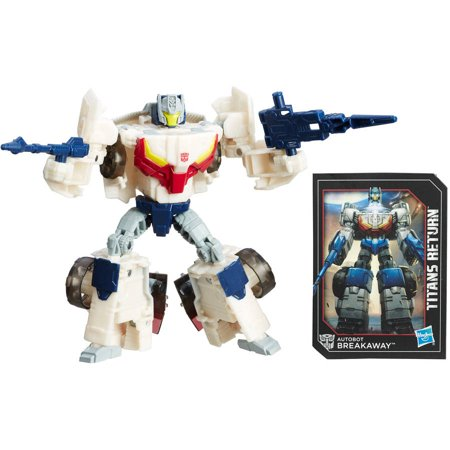 Transformers Generations Titans Return Autobot Breakaway and Autobot Throttle (Transformers For Kids)