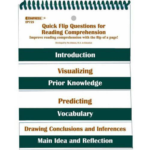 Edupress Resources Quick Flip Questions for the Revised Bloom's Taxonomy Flip Chart