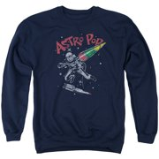 Astro Pop Space Joust Mens Crewneck Sweatshirt
