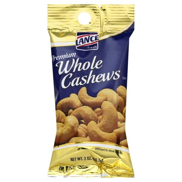 Lance Nuts Whole Cashews